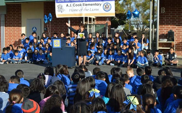 Cook assembly for Blue Ribbon Award