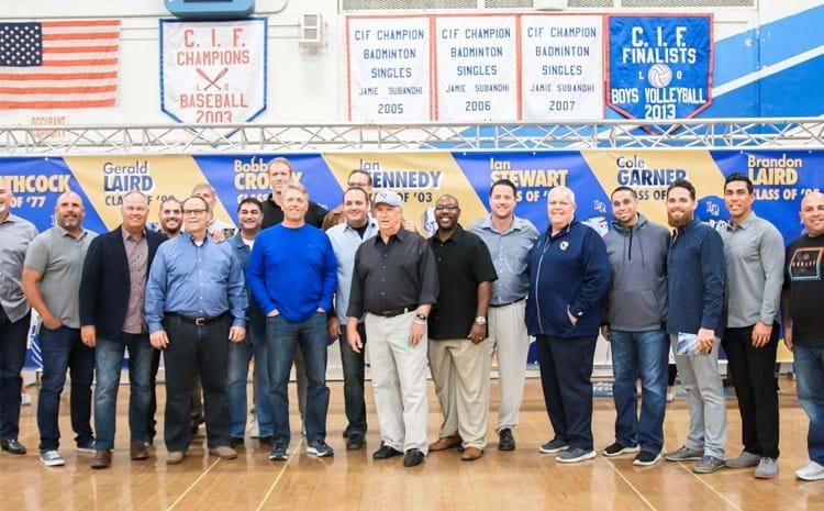 La Quinta Baseball Alumni Gather for a Picture