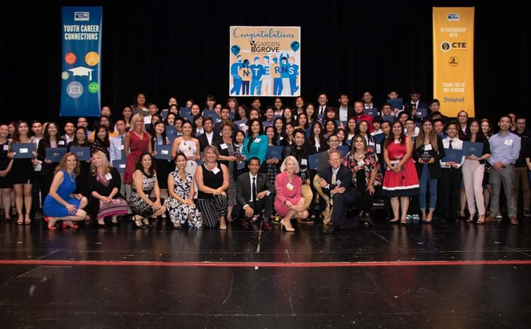 GGUSD Celebrates Students' Successful Internship Experience