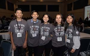 Latinos Unidos students