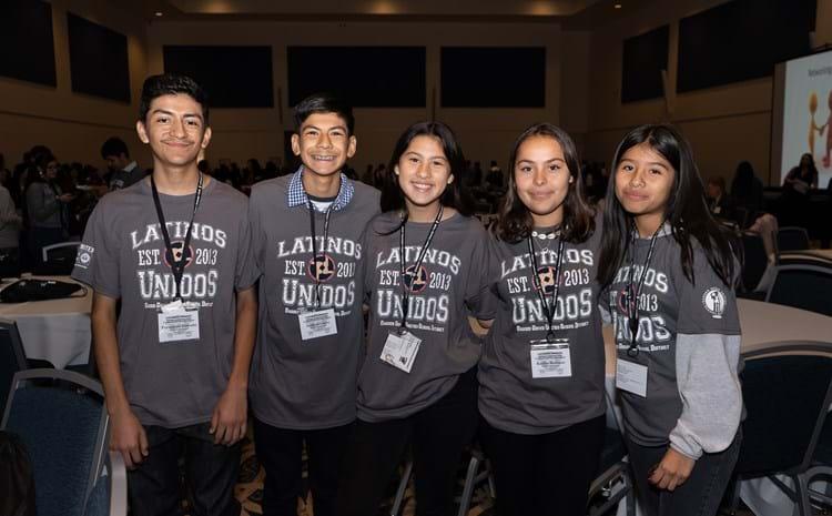 Latinos Unidos students